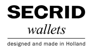 Secrid wallet in Den Haag