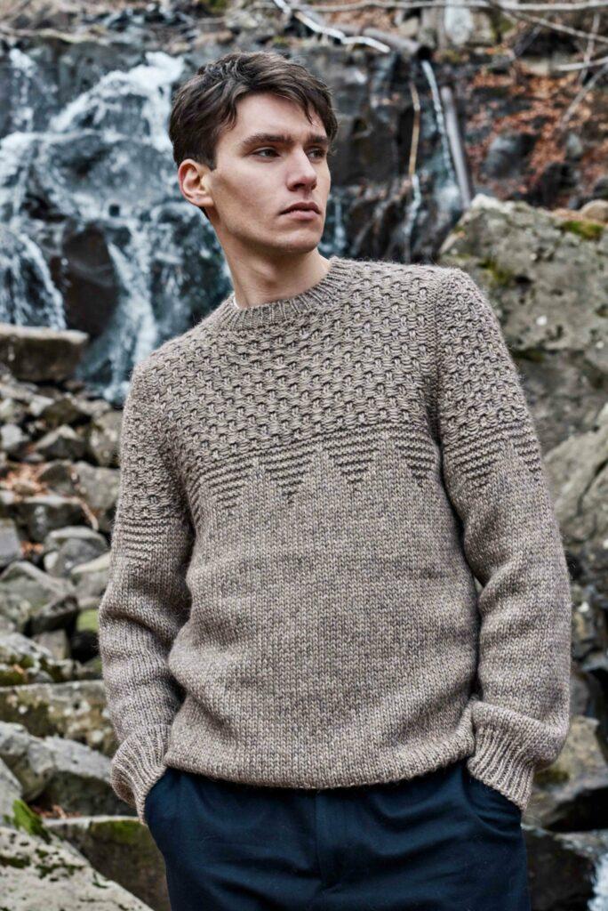 Pullover wool en co